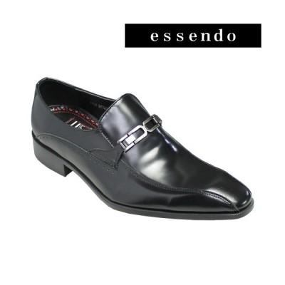 ビジネスシューズアントニオ ドゥカティ/ドレス&カジュアルシューズ(スワールモカ・ビット)・DC1231(ブラック)/ANTONIO DUCATI メンズ 靴