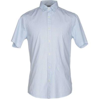 オンリーアンドサンズ ONLY & SONS メンズ シャツ トップス patterned shirt Blue