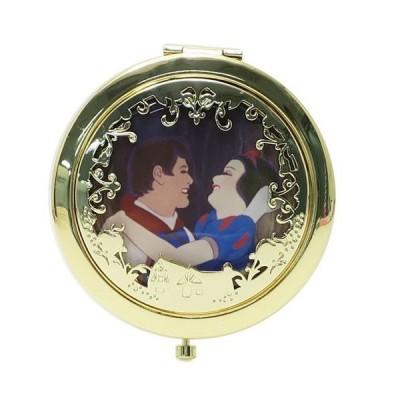 コンパクトミラー 手鏡 白雪姫 王子 SHO-BI ディズニープリンセス ダブルミラー