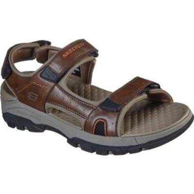 スケッチャーズ Skechers メンズ サンダル スポーツサンダル シューズ・靴 Relaxed Fit Tresmen Hirano Sport Sandal Brown