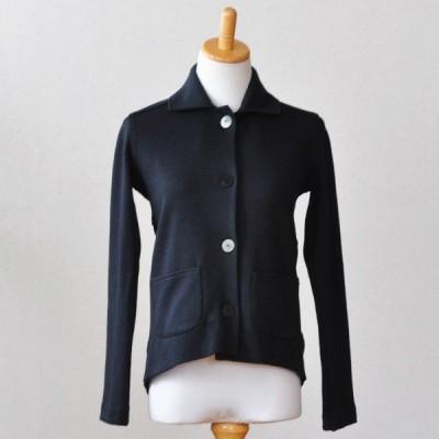 Feral Childe(フィラルチャイルド) Spectre Sweater Black (背中切り替えカーデガン 黒 ) 日本国内 セレクトショップ 直輸入