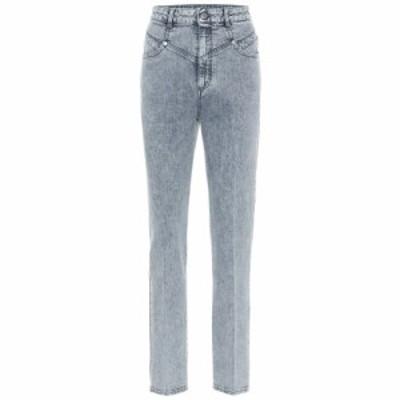 ステラ マッカートニー Stella McCartney レディース ジーンズ・デニム ボトムス・パンツ High-rise stretch-denim slim jeans 80s Blue