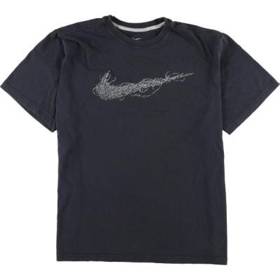 ナイキ NIKE DRI-FIT ロゴTシャツ メンズL /eaa164054