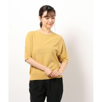 Te chichi / リサイクルコットン鹿の子プルオーバー WOMEN トップス > Tシャツ/カットソー