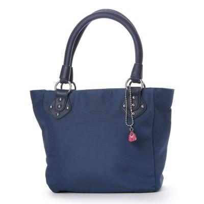サボイ SAVOY ナイロン系素材のバッグ (ネイビー)