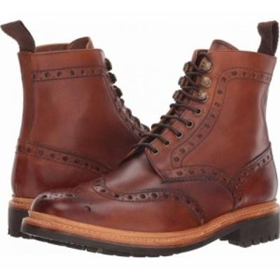 グレンソン Grenson メンズ ブーツ シューズ・靴 Fred Commando Sole Boot Tan Hand Painted Calf