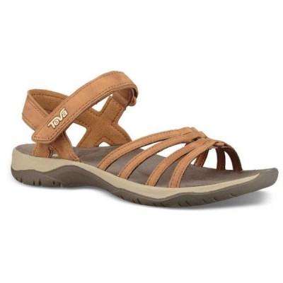 テバ レディース シューズ サンダル Elzada Leather Sandals