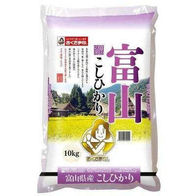 米 お米 送料無料 2020年産 富山県産 こしひかり 10kg お取り寄せ お土産 ギフト プレゼント 特産品 名物商品 ホワイトデー おすすめ