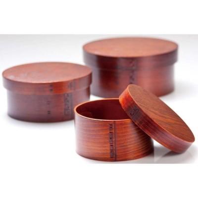 山下工芸(Yamasita craft) 曲げワッパ三人用飯器 目摺り 32239000