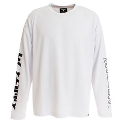 Tシャツ メンズ 長袖 SMT193070WH 【 バスケットボール ウェア 】 【スポルディング限定】
