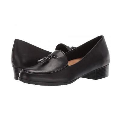 Trotters トロッターズ レディース 女性用 シューズ 靴 ローファー ボートシューズ Mary - Black
