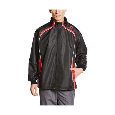 CONVERSE 6F ウォームアップジャケット (CB162501S) 色 : ブラック/レッド サイズ : O