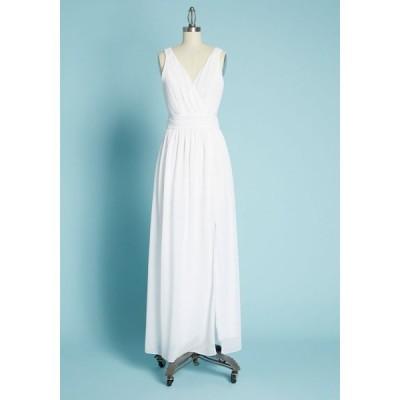 モドクロス ModCloth レディース パーティードレス マキシ丈 ワンピース・ドレス embracing grace maxi dress white