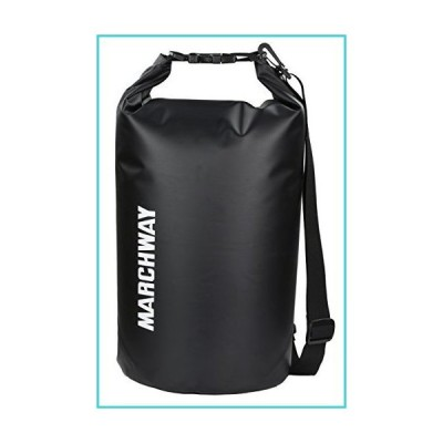 MARCHWAY Floating Waterproof Dry Bag 5L/10L/20L/30L, Roll Top Sack Keeps Gear Dry for Kayaking, Rafting, Boating, Mountaineering, Climbing,