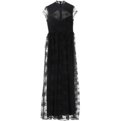 NA-KD ロングワンピース&ドレス ブラック 38 ポリエステル 50% / ナイロン 50% ロングワンピース&ドレス