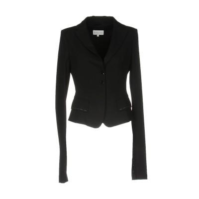 パトリツィア ペペ PATRIZIA PEPE テーラードジャケット ブラック 44 バージンウール 77% / ナイロン 19% / ポリウレタン