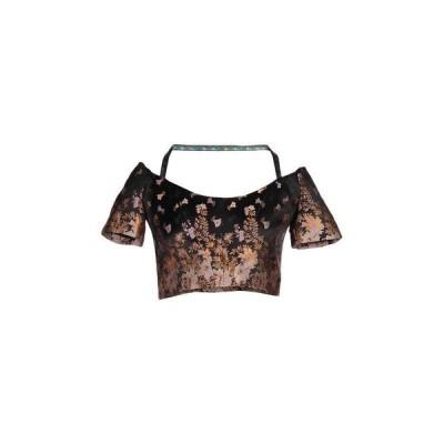 ETRO ブラウス ファッション  レディースファッション  トップス  シャツ、ブラウス  長袖 ブラック