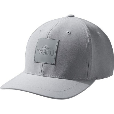 ノースフェイス 帽子 アクセサリー メンズ The North Face Men's Flexfit Logo Baseball Hat MidGrey