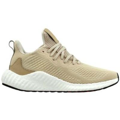 アディダス メンズ スニーカー シューズ Alphaboost Running Shoes linen / st pale nude