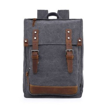TSDブランド レディース バックパック・リュックサック バッグ Discovery Canvas Backpack Gray