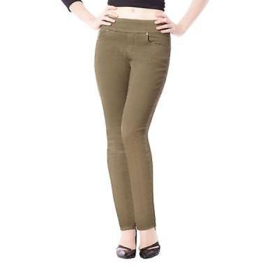 ブルーベリーデニム ジーンズ Bluberry Women's Khaki Slim-leg Denim Pants