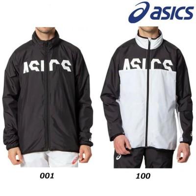 【即納/ラスト1点】2020年 asics アシックス CA 裏トリコットブレーカージャケット ブラック ホワイト メンズ (2031C052)