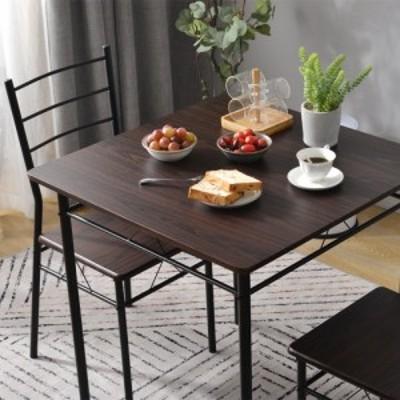 ダイニングテーブル ダイニング3点セット ダイニングテーブル ローテーブル 木製 北欧 かわいい おしゃれ スペース活用 モダン デザイン