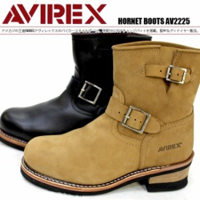 AVIREX U.S.A(アビレックス)HORNET AV2225 HORNET エンジニアブーツ ワークブーツ【送料無料】
