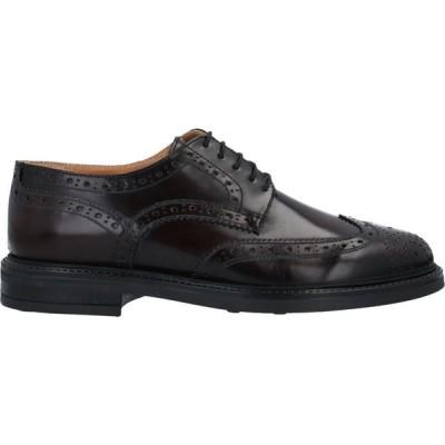 ベリー BRUNO VERRI メンズ シューズ・靴 laced shoes Maroon