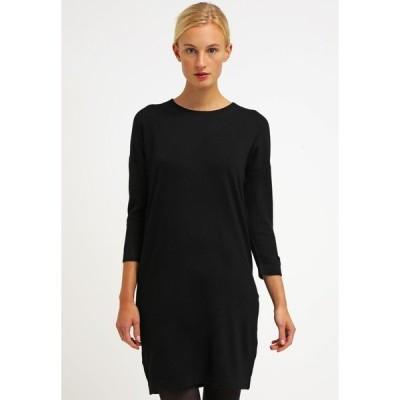 ヴェロモーダ ワンピース レディース トップス VMGLORY VIPE AURA DRESS - Jumper dress - black