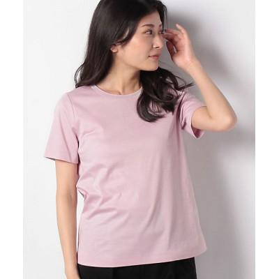 <Leilian(Women)/レリアン> 半袖Tシャツ ピンク【三越伊勢丹/公式】
