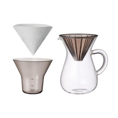 キントー KINTO コーヒーカラフェセット プラスチック 600ml コーヒーメーカー ドリップ式 27644 卒業式 新生活 おしゃれ かわいい