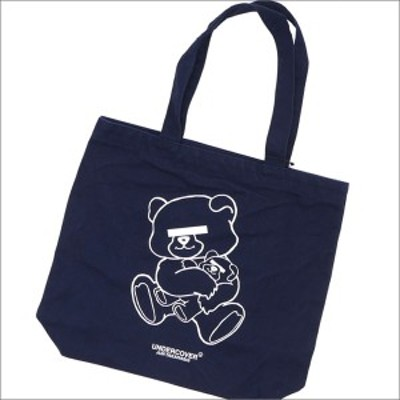 (新品)UNDERCOVER(アンダーカバー) BEAR Mini Tote Bag (トートバッグ) NAVY 277-002278-017x(グッズ)