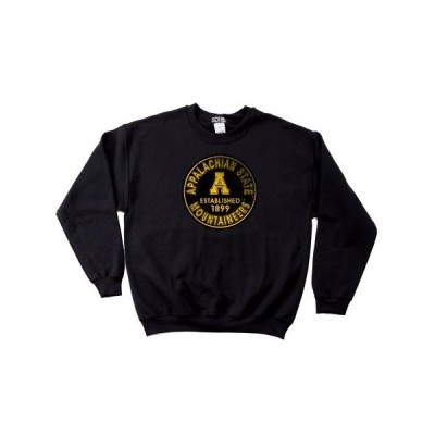 NCAA Appalachian State Mountaineers 50?/ 50?Blended 8-ounceヴィンテジ円クルネックスウェット