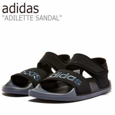 アディダス サンダル adidas メンズ レディース ADILETTE SANDAL アディレッタサンダル BLACK ブラック FY8649 シューズ