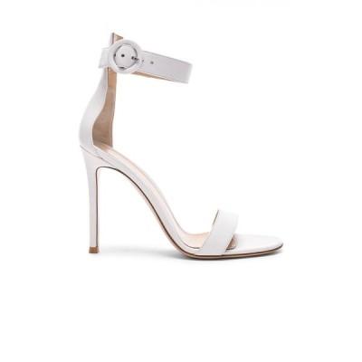 ジャンヴィト ロッシ Gianvito Rossi レディース サンダル・ミュール シューズ・靴 leather portofino heels White