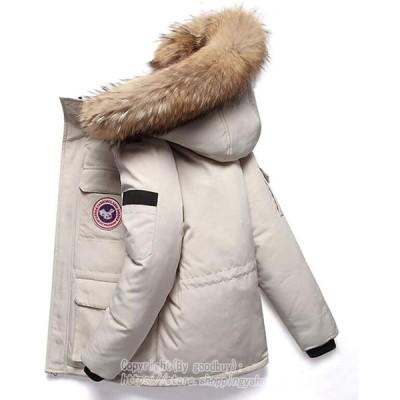 ダウンジャケット メンズ ダウンコート 中綿ジャケット 保温 カジュアル フード付き ファー付き 冬物 厚手 アウター ジャンパー 防寒 防風