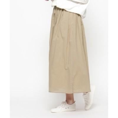 ◆コットンギャザーロングスカート