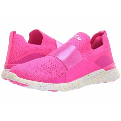 APL レディース スニーカー シューズ Techloom Bliss Neon Pink/White/Speckle