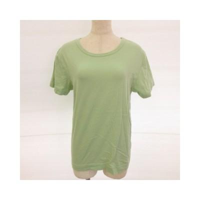 【中古】ボナジョルナータ BUONA GIORNATA カットソー Tシャツ 半袖 くすみグリーン 緑 M *E149 レディース 【ベクトル 古着】
