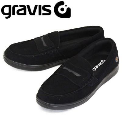 gravis (グラビス) 25220 ODJICK オジェック リッポン スニーカー BLACK/BLACK GRV033