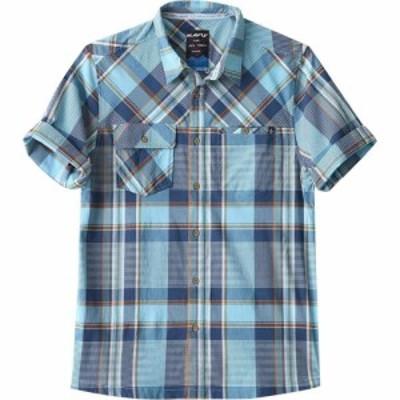 カブー KAVU メンズ 半袖シャツ トップス Boardwalk Short - Sleeve Shirt Beach Blues
