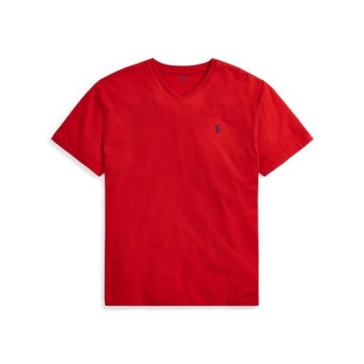 ポロ ラルフローレン メンズ Polo Ralph Lauren Classic Fit V-Neck T-Shirt Tシャツ 半袖 RL 2000 RED Vネック