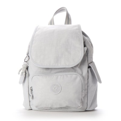 キプリング Kipling CITY PACK MINI (Curiosity Grey)
