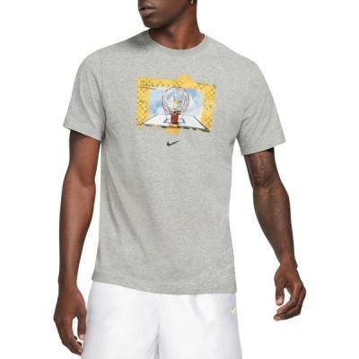 ナイキ Nike メンズ Tシャツ ドライフィット トップス Dri-FIT Photo T-Shirt Dk Grey Heather