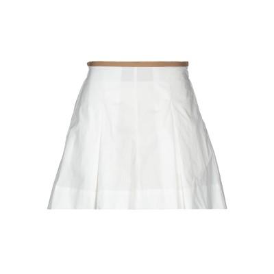 ジャッカ JUCCA ミニスカート ホワイト 40 コットン 100% ミニスカート