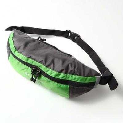 コロンビア  Lightweight Packable HipPack(ライトウェイト パッカブル ヒップパック)  1L  349(Green Boa×City Grey)