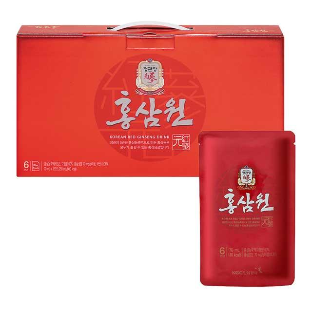 《正官庄》高麗蔘元 PLUS 隨身包(70mlX15入)/盒