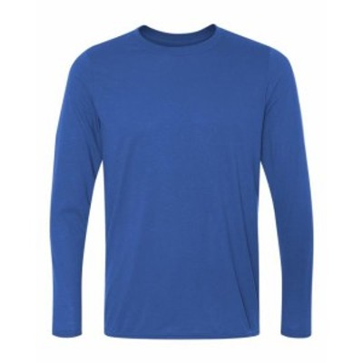 Gildan ギルダン ファッション トップス Gildan Mens Performance 4.5 oz. Long-Sleeve T-Shirt G424 Size S-3XL