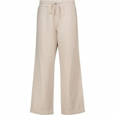 ヴィンス Vince レディース スウェット・ジャージ ボトムス・パンツ Cropped cotton sweatpants Pale Fawn